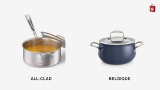 Belgique 3-Qt. Saucepan with Lid Comparison Video