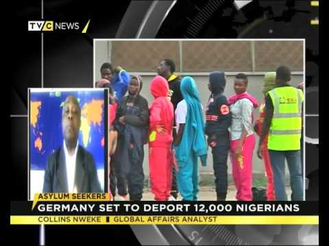 Collins Nweke Speaks on Germany set to deport 12,000 Nigerian asylum seekers