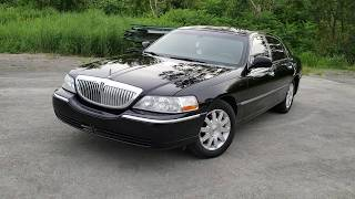 2011 LINCOLN TOWN CAR WALKTHROUGH REVIEW