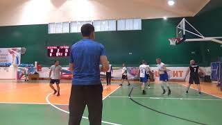 Баскетбол. Ветераны - Горный транспорт. 02.07.2019