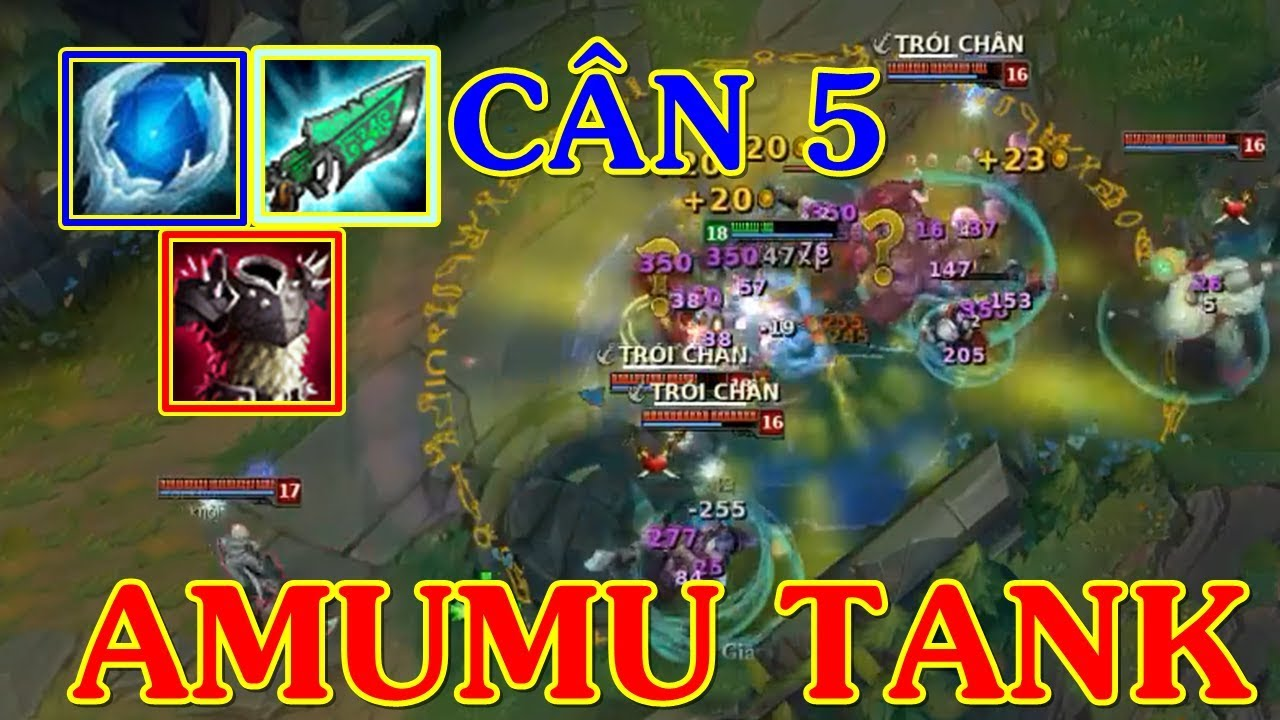 Quái Thú Amumu FULL Tank TOP Cân 5 Quá Nhẹ Nhàng | Trâu Best Udyr