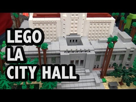 LEGO Los Angeles City Hall | BrickCon 2016