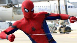 Spider-Man vs Captain America - Airport Battle Scene - Captain America: Civil War (2016) Movie Clip
