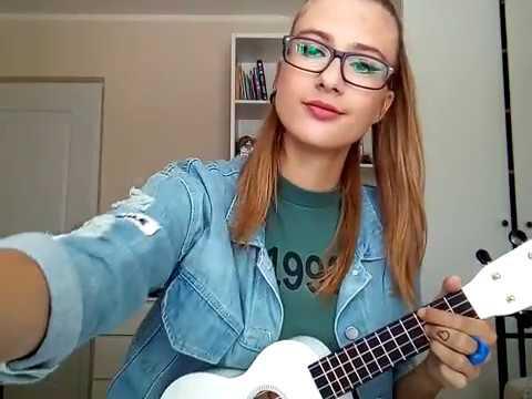 Billie Eilish Ocean Eyes Ukulele Cover By Vanesa Youtube