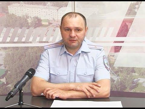 Виктор Аленников - начальник мегионского отдела Госавтоинспекции