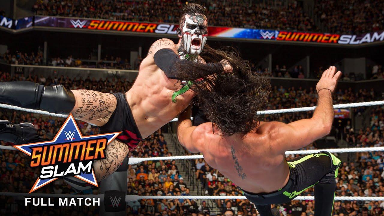 Download FULL MATCH - Finn Bálor vs. Seth Rollins - Universal Title Match: SummerSlam 2016
