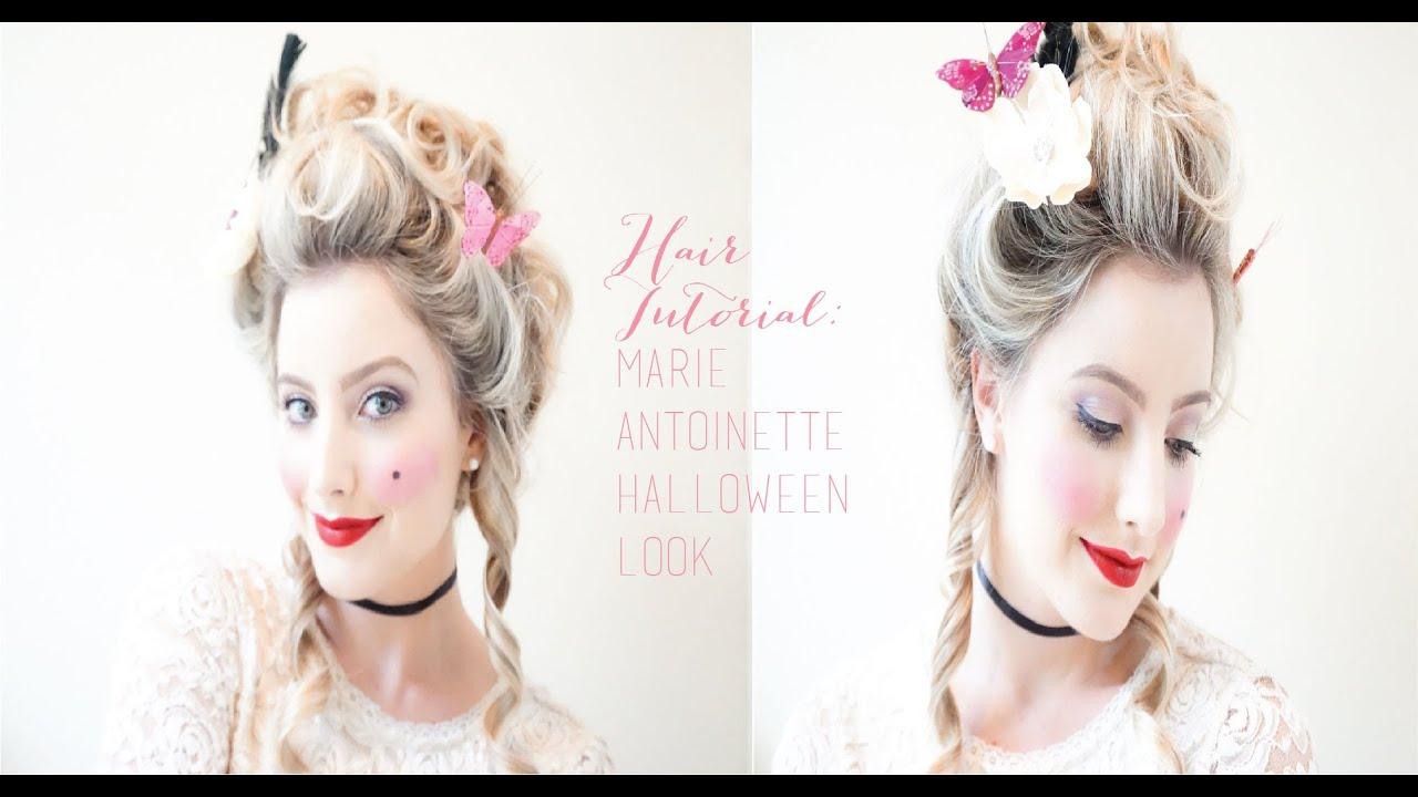 Marie Antoinette Halloween Look Hair Part Ii