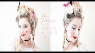 Marie Antoinette Halloween Look- Hair- Part II