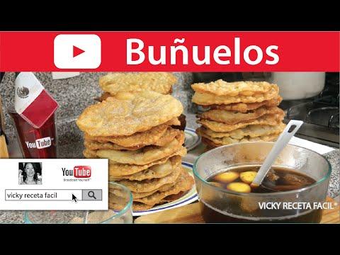 BUÑUELOS | Vicky Receta Facil