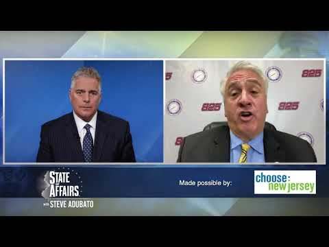 Lalevee Discusses COVID-19's Long-term Impact on NJ's Infrastructure with Adubato