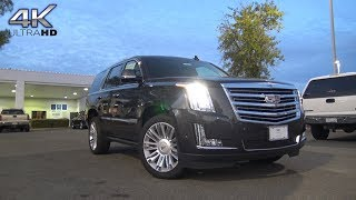 2018 Cadillac Escalade 6.2 L V8 Nighttime 4K Walkaround