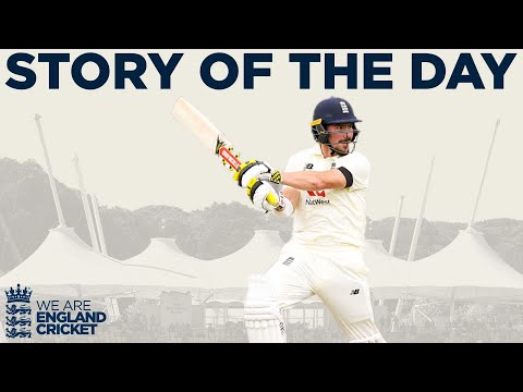 Burns and Denly Hold Firm as Cricket Returns! | England v West Indies 1st Test Day 1 2020