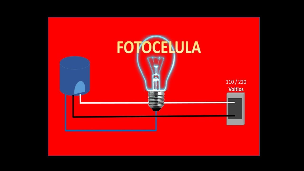 Como instalar fotocelula espa ol youtube - Como instalar lamparas led ...