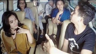 Truth or Dare | Carpool Karaoke with ISYANA SARASVATI