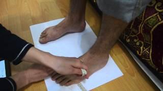 Measuring Feet for Custom Shoes