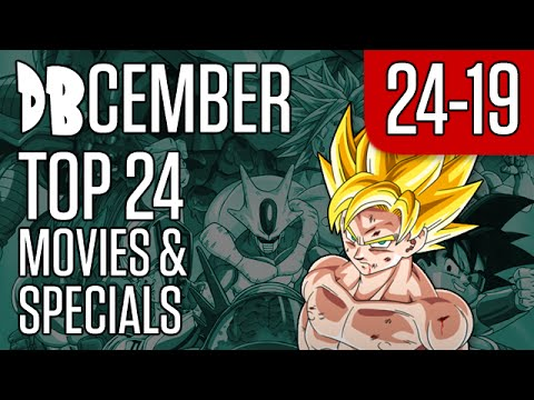 DBcember: Top 24 Movies and Specials: 24-19