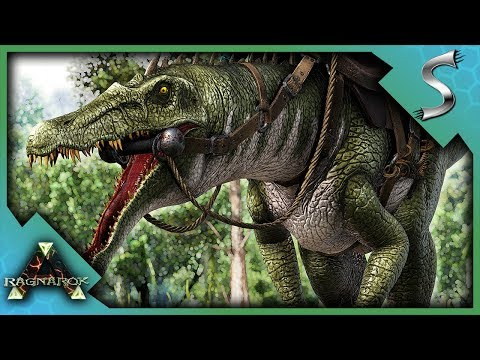 THE ULTIMATE CAVING DINO! HIGH LEVEL BARYONYX TAMING! - Ark: Survival Evolved [Cluster E43]