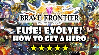 Brave Frontier - Fuse and Evolve! - GamePlay Review Guide - Android iOS
