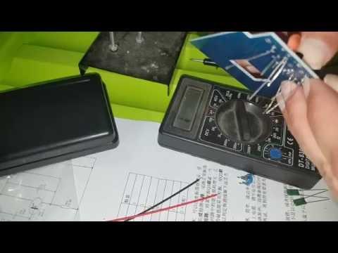 A metal detector kit - DIY soldering kit