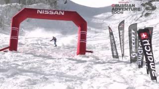 Flo Orley - 1st Snowboarder in Sochi