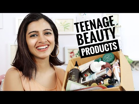 Best Skincare Products For Teenagers & Sensitive Skin || SuperWowStyle Prachi