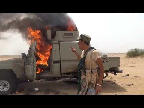 YEMEN: Houthis destroy the technique of the Saudis in the Khairan area