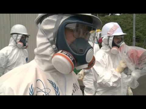 IAEA Chief Yukiya Amano visits Fukushima Daichi