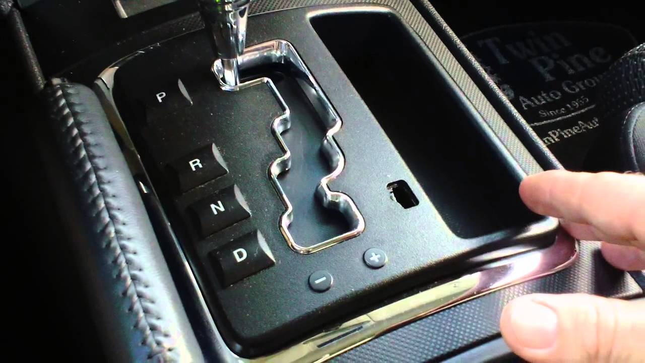 HOW TO USE THE TIPTRONIC TRANSMISSION ON A JEEP  YouTube