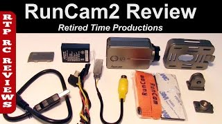 RunCam2 WiFi 120° FOV Action Camera for RC FPV Release Version Review and testing