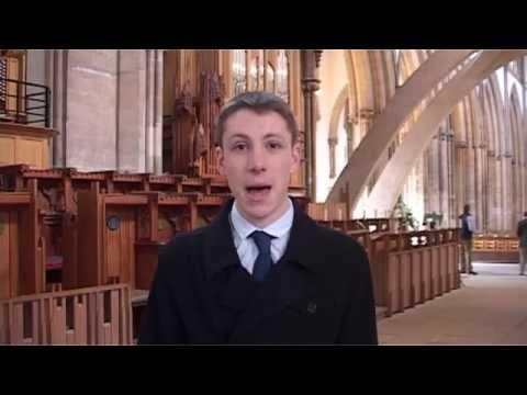 Llandaff Cathedral's new organ - Chris Browning