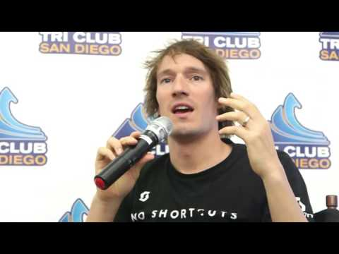 Sebastian Kienle at Tri Club of San Diego