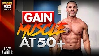 How To Build Muscle For Over 50 Years Old (TriCon Training)