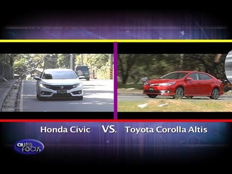 Honda Civic vs Toyota Corolla Altis Head 2 Head 2017