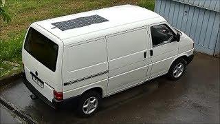 VW T4 Transporter  --  Solaranlage einbauen