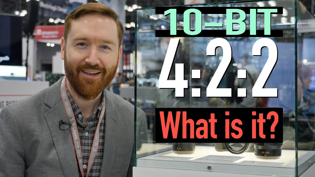 What Is 10-bit Color? What's 4:2:2 Video? Chroma Subsampling