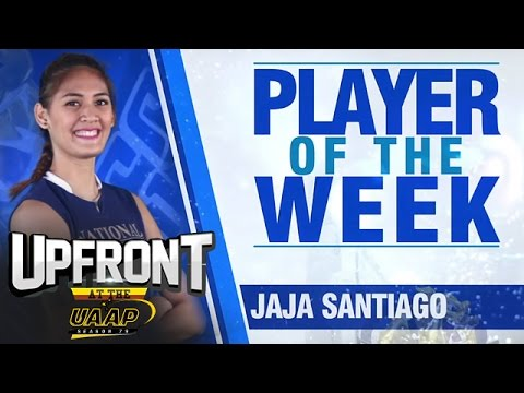 UAAP 79 Women's Volleyball l Player of the Week | Upfront at the UAAP