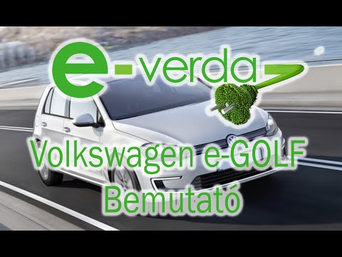 Volkswagen e-Golf bemutató
