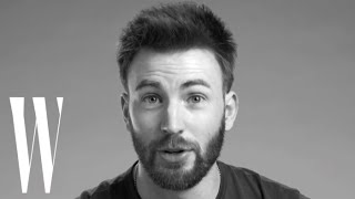 Chris Evans On Captain America, Not Another Teen Movie, Sandra Bullock  | Screen Tests | W Magazine