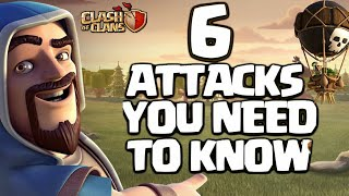 BEST TOP 6 TOWN HALL 9(TH9) ATTACK STRATEGIES🔥 THAT YOU NEED TO KNOW 2018!! - CLASH OF CLANS(COC)