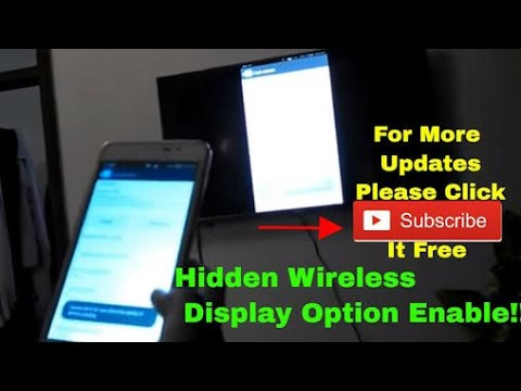 How to Enable the Wireless Display Option in Motorola Devices (Cast Screen  Problem)