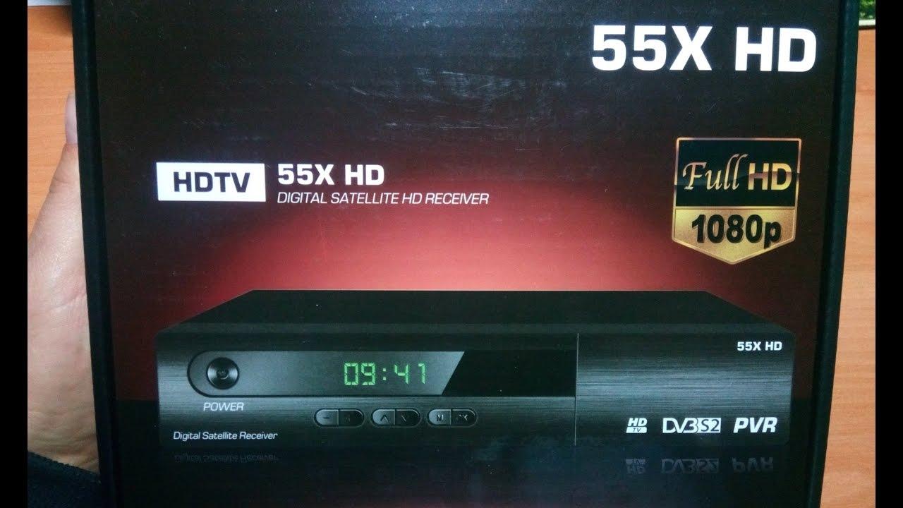 Спутниковый Тюнер Satcom 4050 HD Plus.Обзор и Настройка. - YouTube