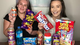 AUSSIES TRY AMERICAN JUNK FOOD FOR THE FIRST TIME