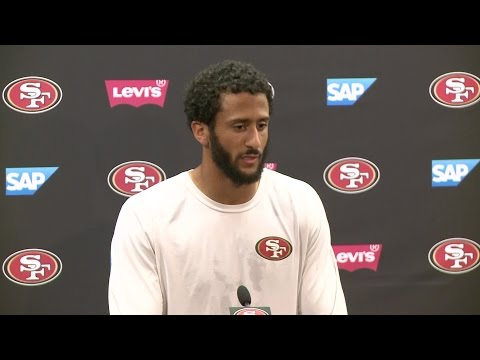 "RAW VIDEO: Kaepernick - ""I Give Everything I Can To This Organization"""
