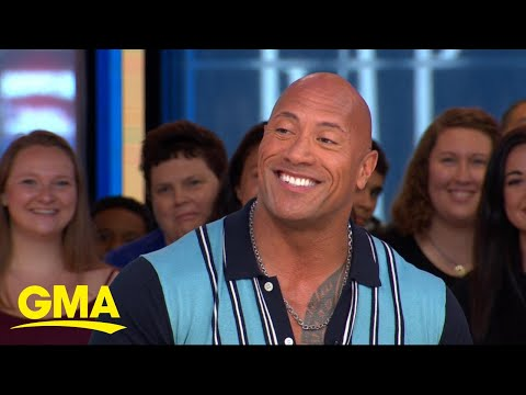 Dwayne Johnson reveals the story behind his mom&39;s nickname for him l GMA