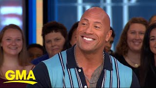 Dwayne Johnson reveals the story behind his mom's nickname for him l GMA