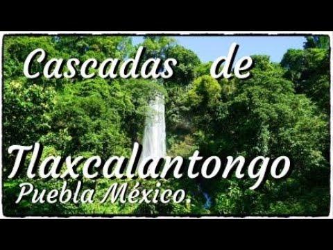 CASCADAS DE TLAXCALANTONGO, XICOTEPEC DE JUÁREZ PUEBLA MÉXICO.