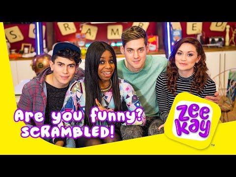 Are you Funny?| Scrambled! | ZeeKay