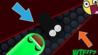 Slither.io - DEATH SNAKE HACK // IMMORTAL BIGGEST SNAKE // BEST TROLLING MOMENTS (Slitherio)