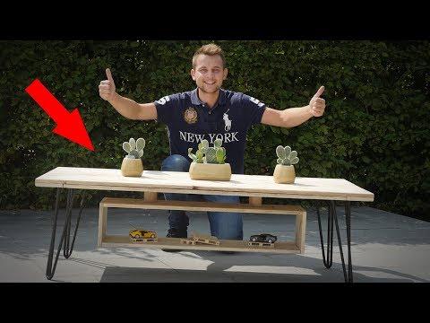 Fabrication d'Une Table Basse DESIGN et en Palette !