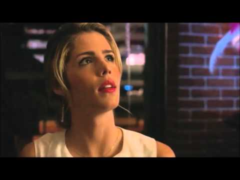 Arrow 4x14 Mr Terrific's gift to Felicity to walk again scene